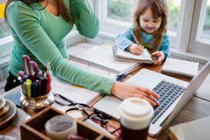 trabalhar-em-casa-secretária-remota